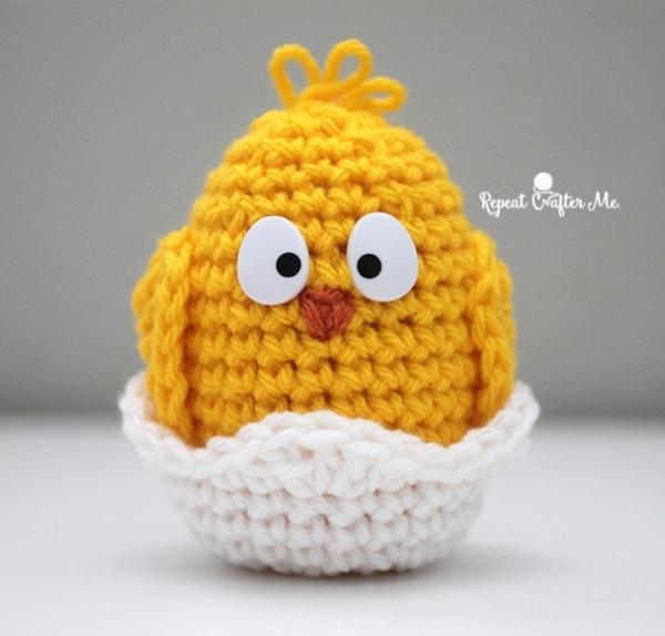 Amigurumi Baby Chick Pattern : 50 Fabulously Inspiring Things in Crochet