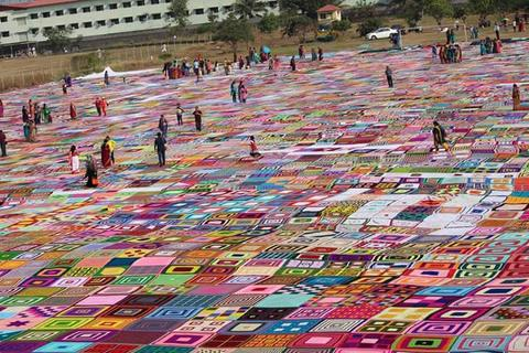 chennai world record crochet