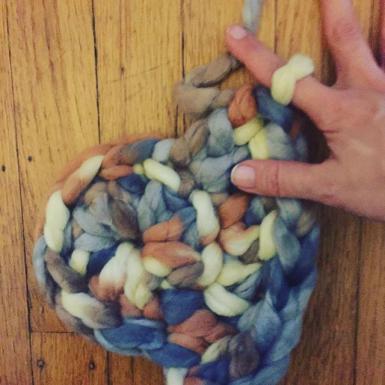 crochet roving