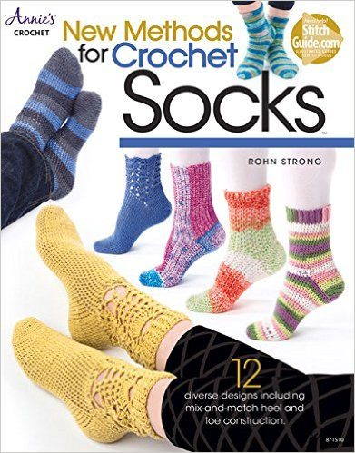crochet socks book