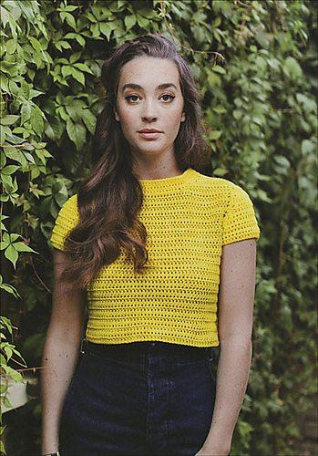 cropped tee crochet pattern wilkinson
