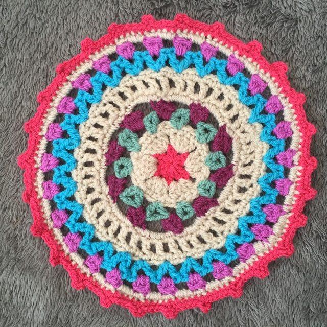 emily crochet mandala