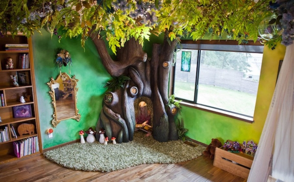 fairy tale reading nook