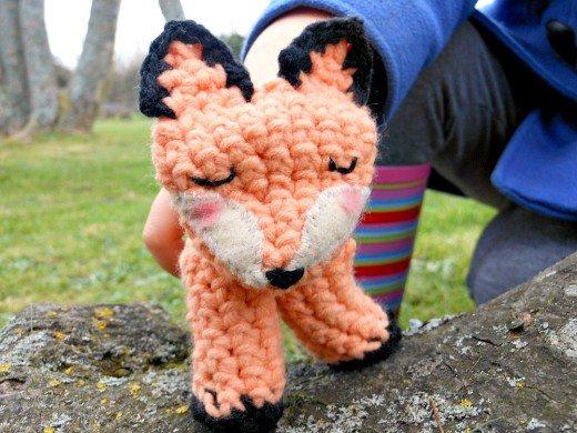 finger puppet crochet