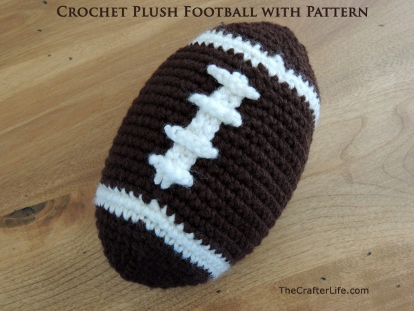football crochet pattern