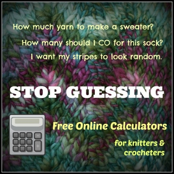 free online crochet calculators
