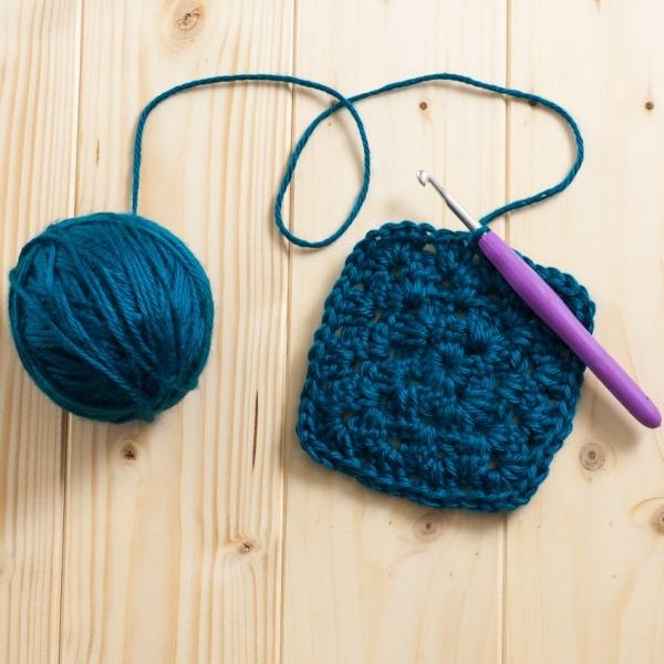 granny square crochet free pattern