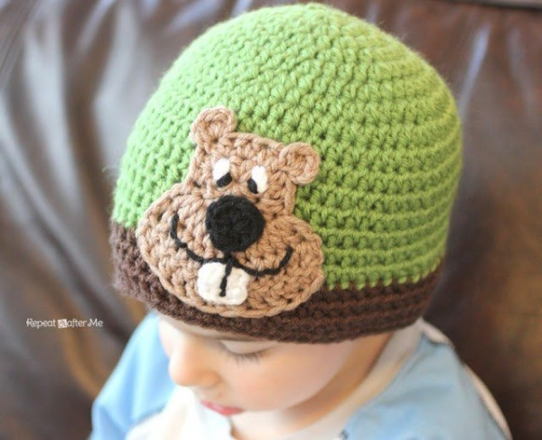 groundhog crochet pattern
