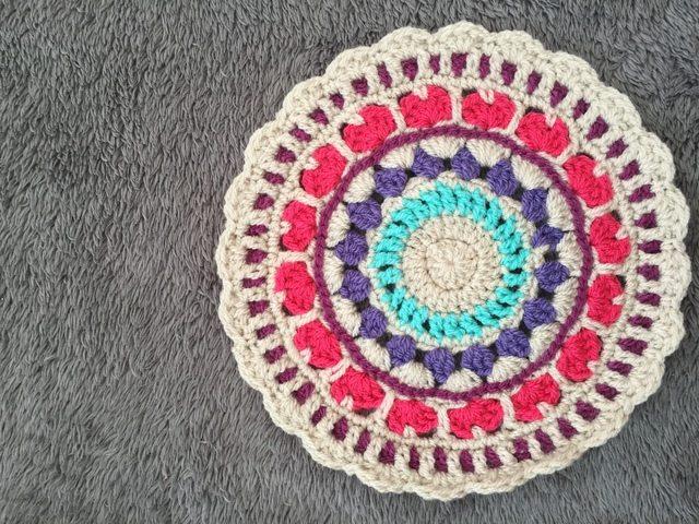 kirstie crochet mandala