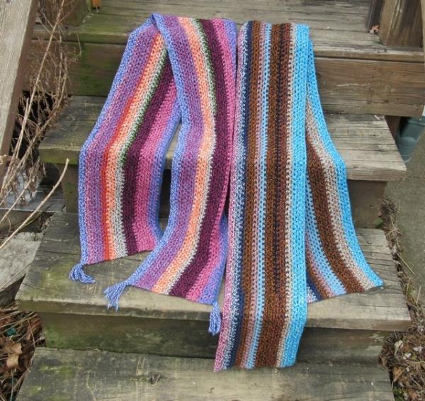 marled yarn free crochet pattern