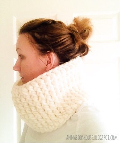 reversible crochet cowl free pattern