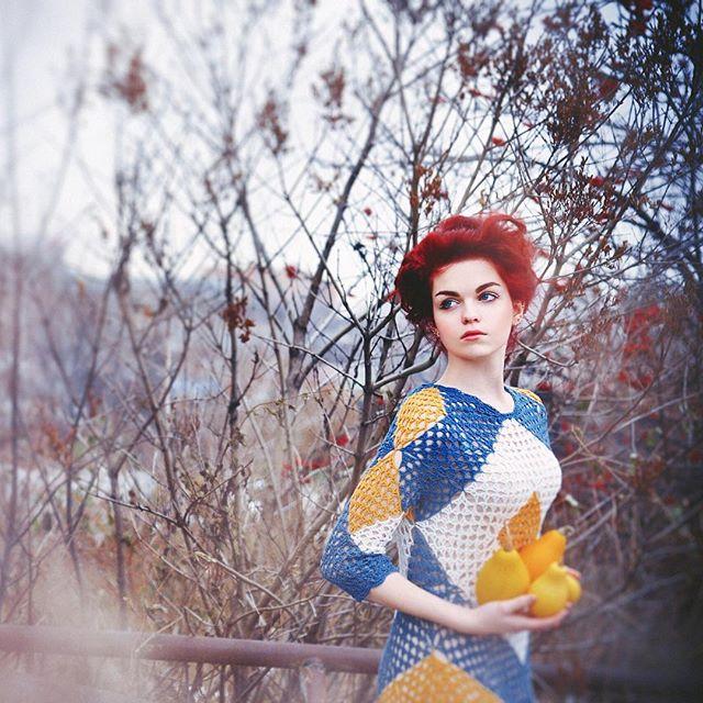 ruchkikruchki diamond crochet dress