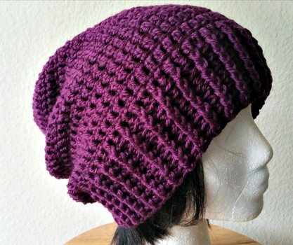 Free Crochet Patterns To Download : Pics Photos - Free Download Crochet Slouchy Hat Patterns ...