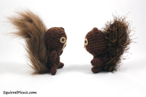 squirrel free crochet patterns
