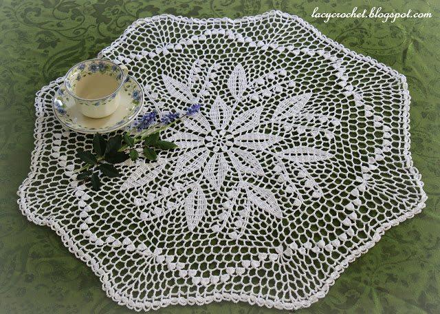 vintage doily crochet pattern