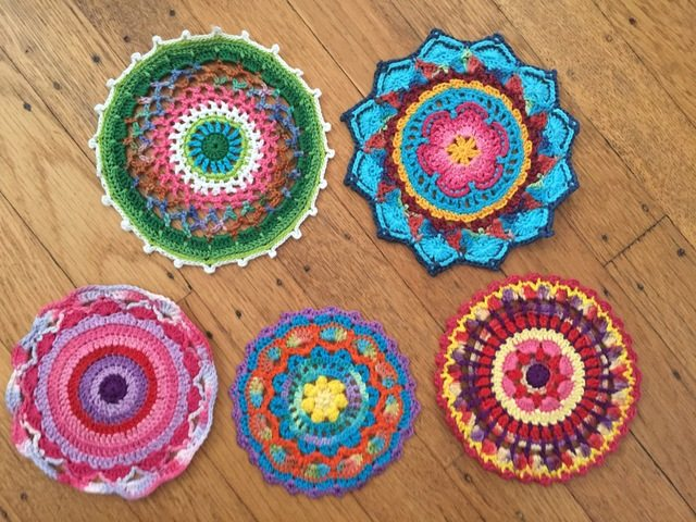 5 Mandalas in Honor of Marinke
