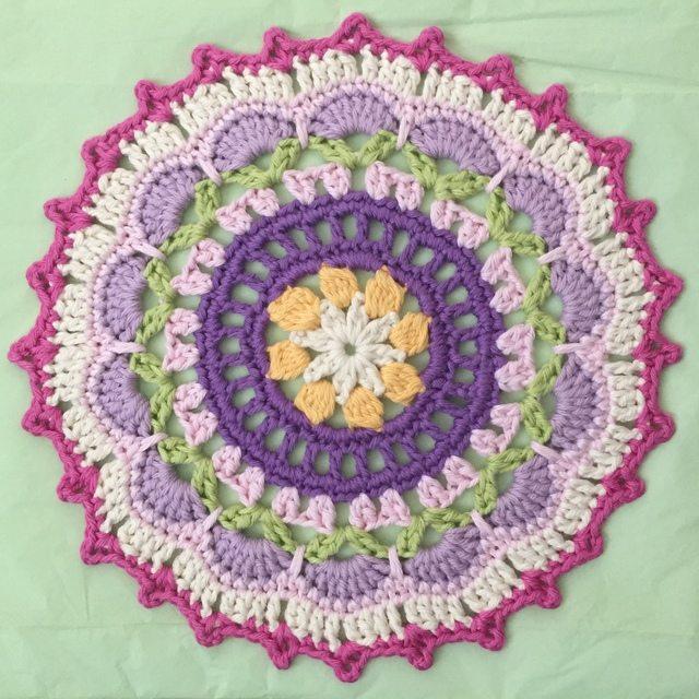 Ali's Crochet Mandala spring