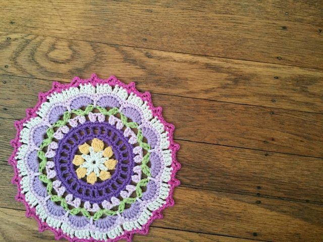 Ali's Crochet Mandala