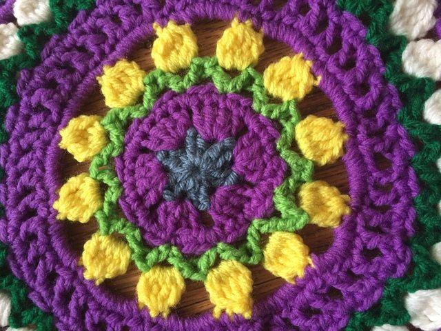 Cassie's Crochet Mandala 2