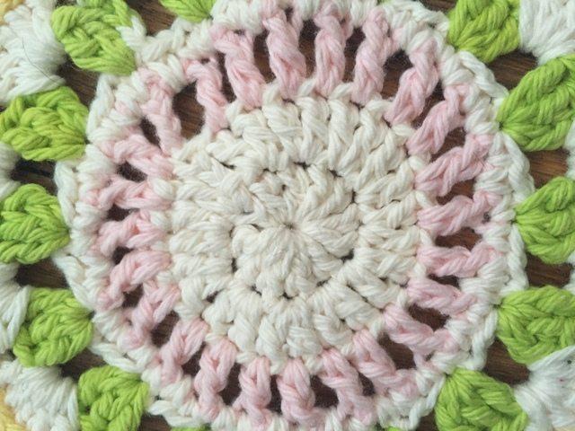 Debbie's Crochet Mandala for Wink