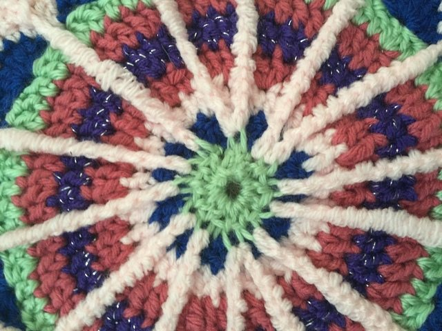 Jane's Crochet Mandala for Wink
