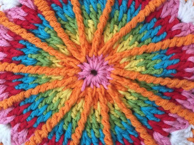 Kym's Crochet Mandala for Wink