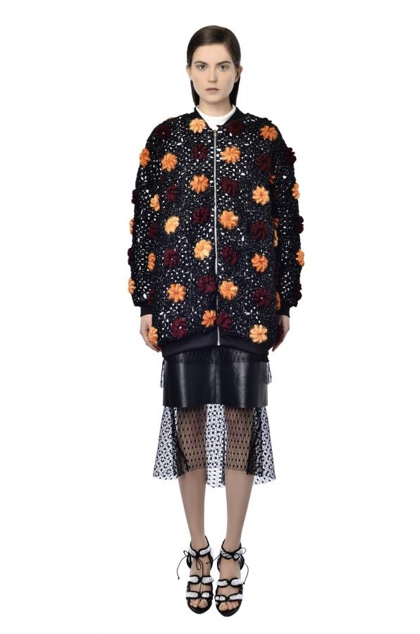NatarGeorgiou crochet flower jacket