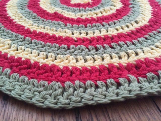 Rebecca's Crochet Mandala flat