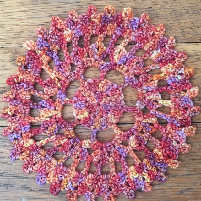 Sara's Thread Crochet Mandala