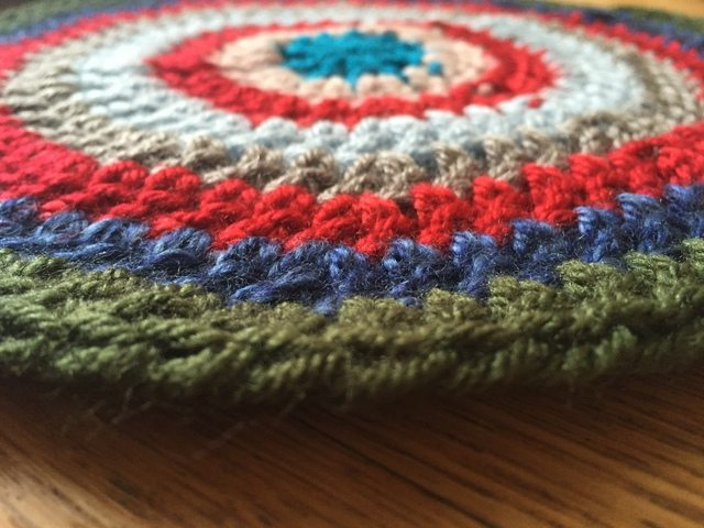 SheMakesHats Crochet Mandala 2