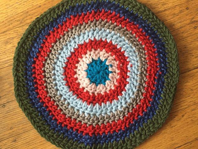 SheMakesHats Crochet Mandala