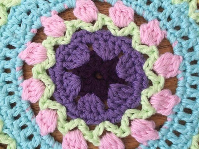 Stephanie's Crochet Mandalas For Marinke + Wink's Blossom detail