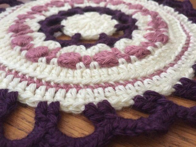 Stephanie's Crochet Mandalas For Marinke + Wink's Blossom edge