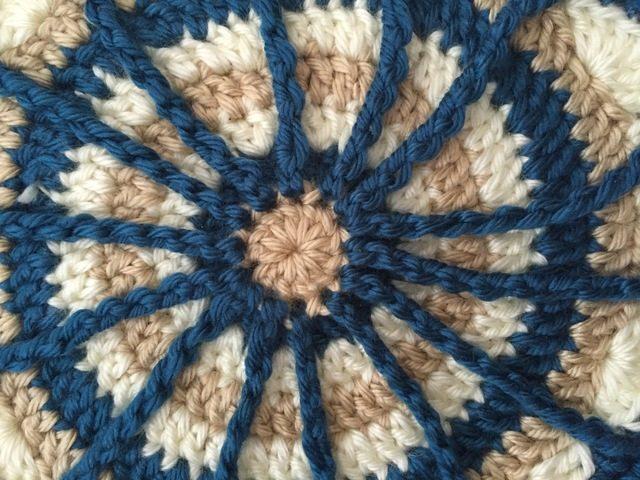 Stephanie's Crochet Mandalas For Marinke + Wink's Blossom spoke