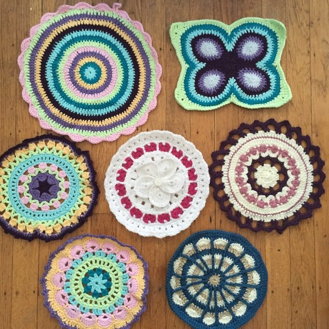 Stephanie's Crochet Mandalas For Marinke + Wink's Blossom