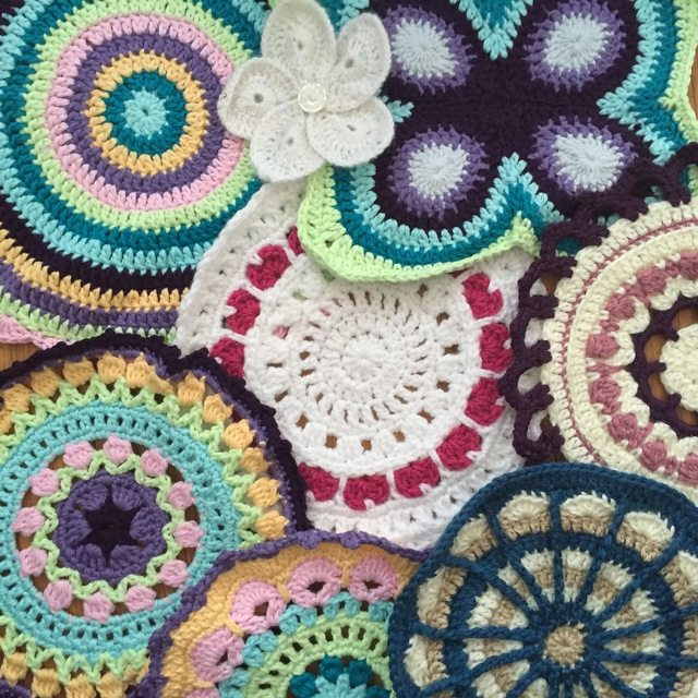 Stephanie's Crochet Mandalas For Marinke + Wink's Blossom1