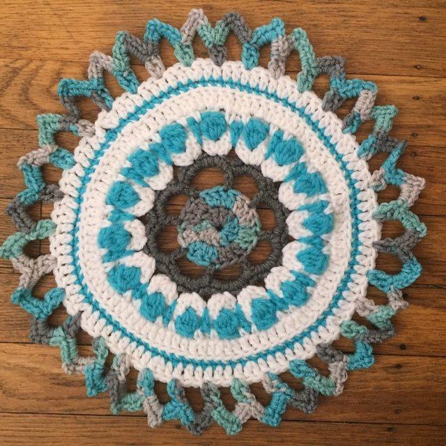 Tina Crochet Mandala
