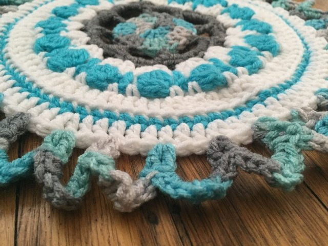 Tina's Crochet Mandala for Wink