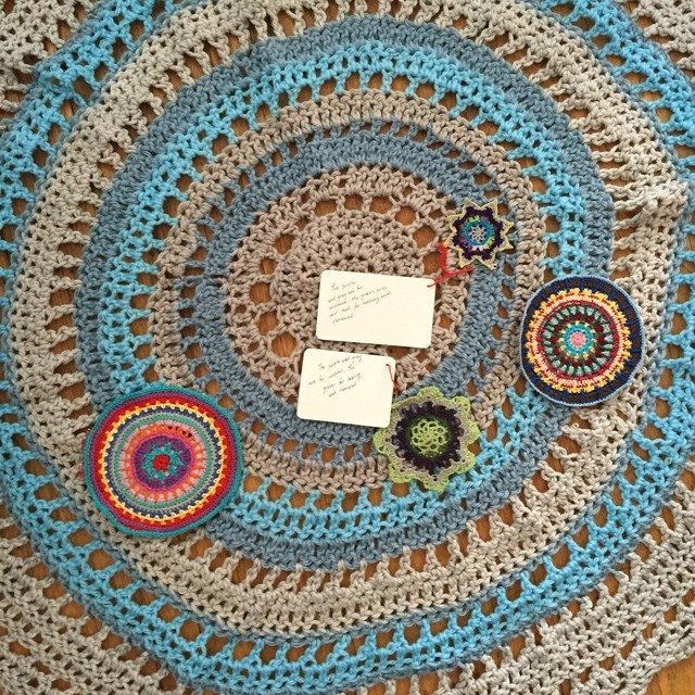 Victoria's Crochet Mandalas for Marinke