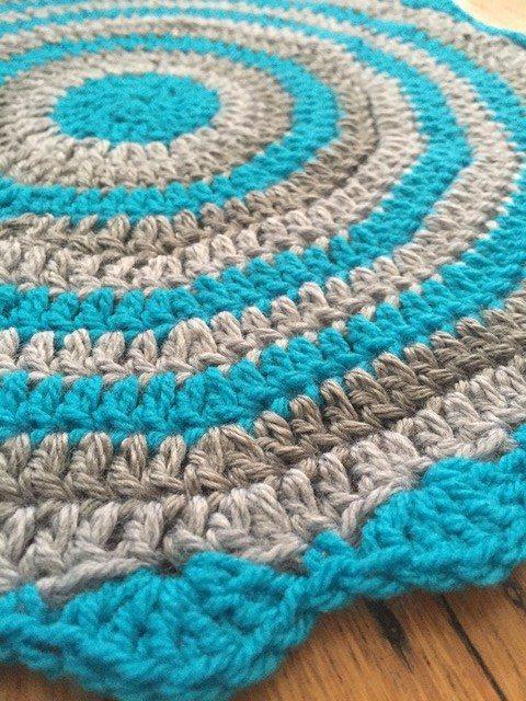 claudia crochet flat mandala