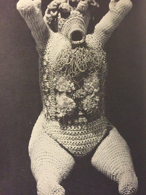 crochet art doll