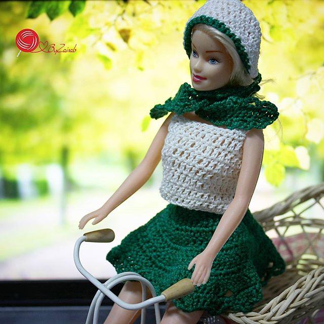 crochetbyzainab crochet barbie