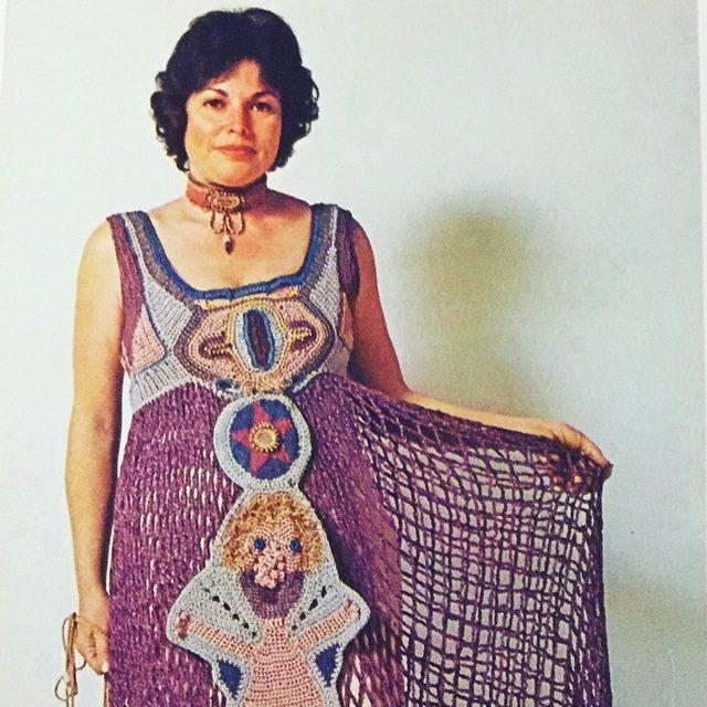 del feldman crochet dress