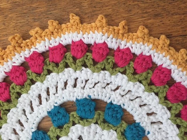 kathryn crochet mandala for marinke