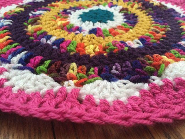 offthehookbysusan crochet mandala for marinke