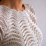 tanjas crochet ripple top