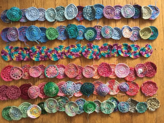 100 mini crochet mandalas for marinke from karen 2