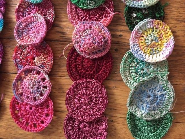 100 mini crochet mandalas for marinke from karen 5