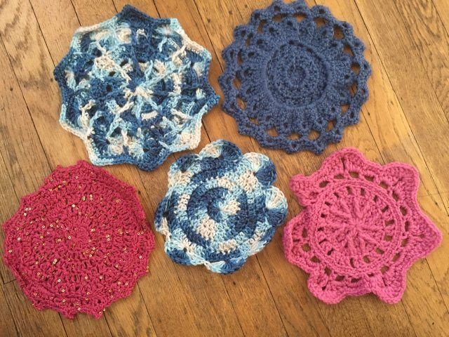 Kate Graff's Crochet Mandalas for Marinke