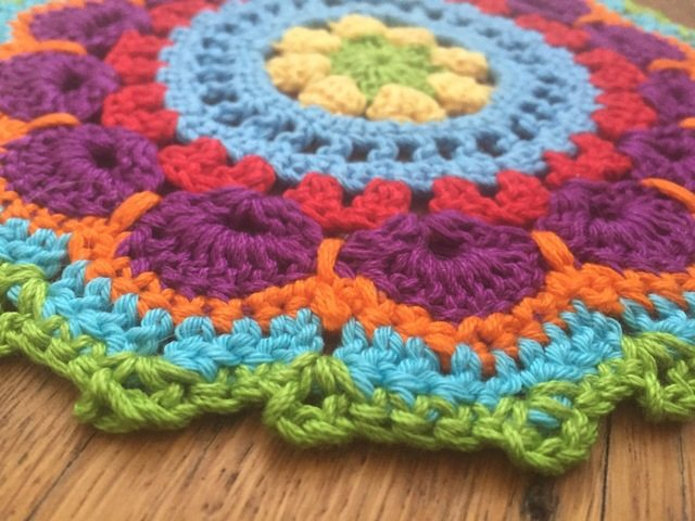 anne cotton crochet mandalas edge picot